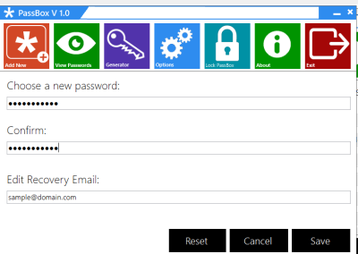 PassBox v2.0 - Ένας χρήσιμος manager για τους κωδικού σας Option10