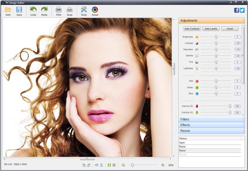 PC Image Editor 5.9 - Πρόγραμμα επεξεργασίας γραφικών με χαρακτηριστικά επαγγελματικού προϊόντος Pc-ima10
