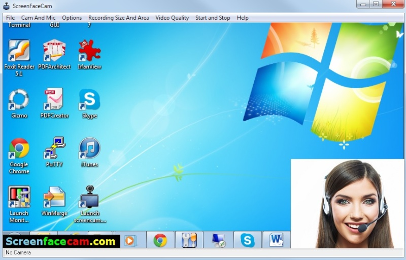 ScreenFaceCam 0.2 Scree148