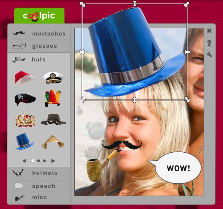 CoolPic 2.0.0.429 - Δημιουργία αστείων εικόνων Scree161