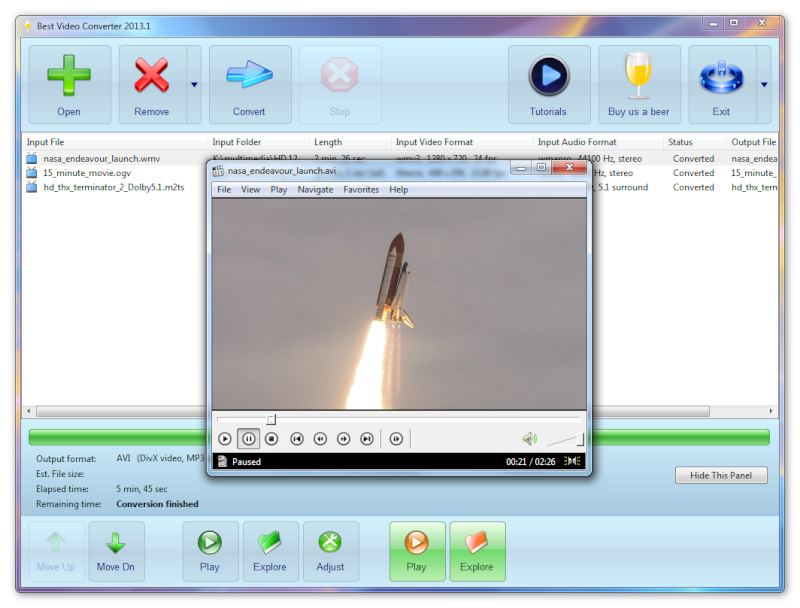 Audio & Video Tools Screen11