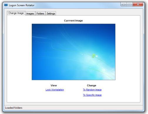 Logon Screen Rotator 4.4.0.0 Screen16