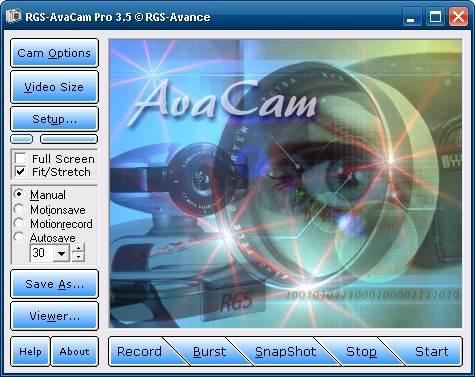 RGS-AvaCam 3.6.3 - Εύκολη καταγραφή βίντεο με την webκάμερα σας Scrn1_10