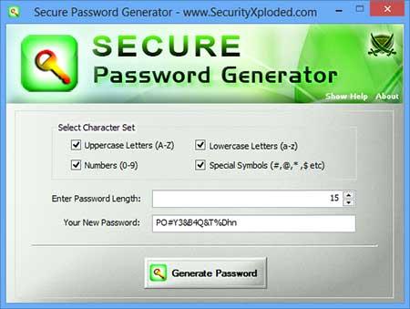 Secure Password Generator 3.0 -  δημιουργήστε ισχυρούς και ασφαλείς κωδικούς πρόσβασης Secure10