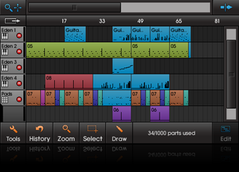 NanoStudio 1.41 - virtual recording studio Sequen10
