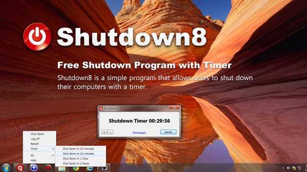 Shutdown8 + Portable 1.08 - Βάλτε σε πόσο χρόνο θέλετε να κλείσει το pc σας Shutdo10