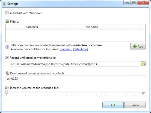 Skype Auto Recorder 1.3.6 Skype-10