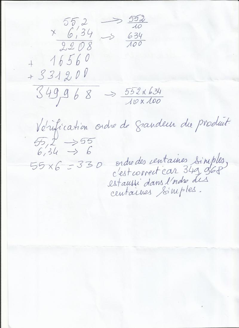 chapitre multiplication des décimaux 6eme Multip10