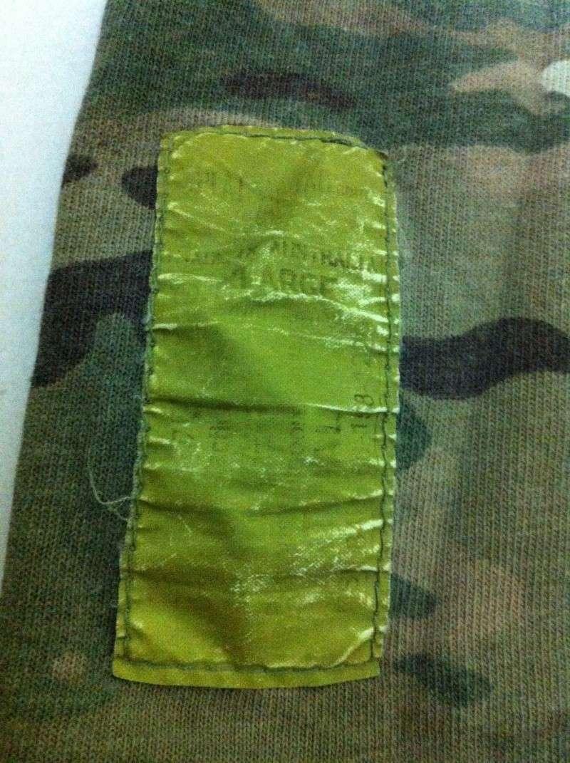 New Zealand SAS multicam trail shirt Camof_12