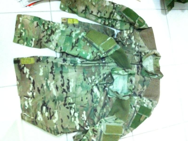New Zealand SAS multicam trail shirt Camof_13