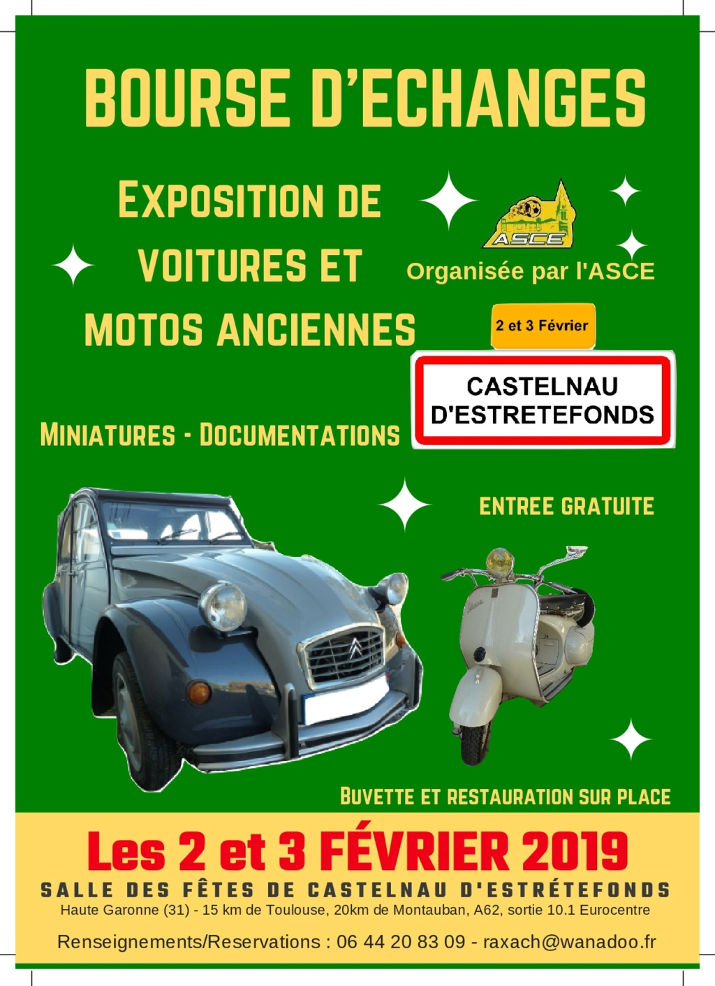 Bourses Expos Rallyes Balades Février 2019 Voitures Anciennes