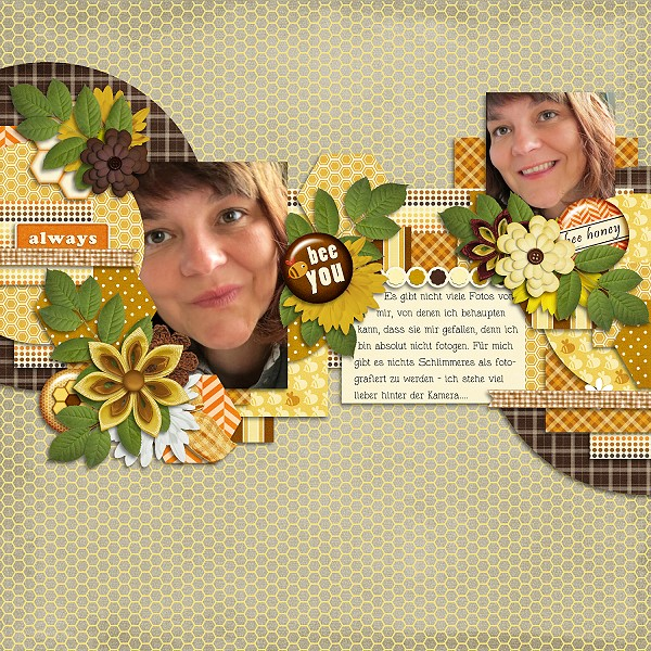 Bee my sweet honey kit and templates - June 7th - Page 2 Beeyou11