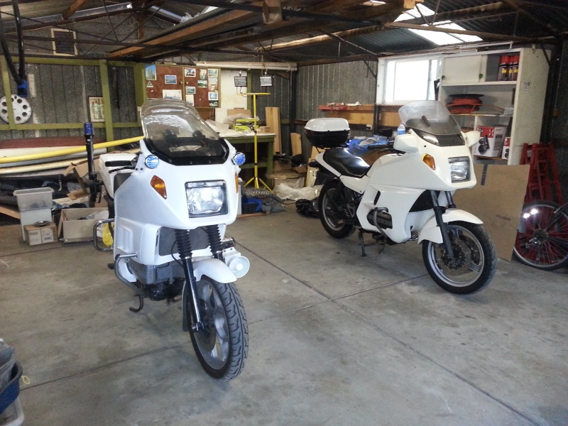 1986 BMW K100RT New South Wales Police Restoration 20130510