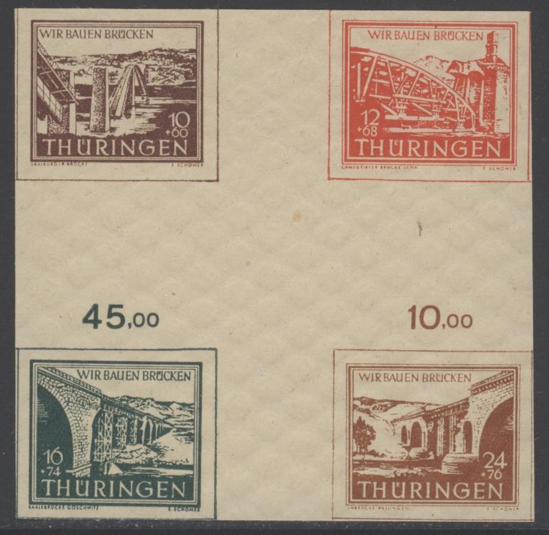 Thüringen (OPD Erfurt) -Sowjetische Besatzungszone- Tharin11