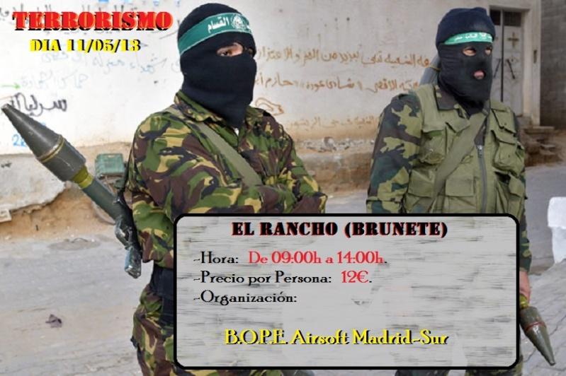 """Partida dia 11/05/13 Op. Terrorismo (El Rancho) """"De Mañana"""" Partid12"""
