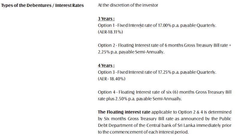 Sri Lanka Senkadagala Finance to sell Rs1bn in debt Deb110
