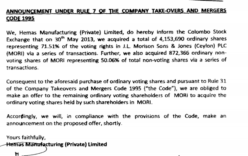 Mandatory Offer ONLY for VOTING Shares? Merge10