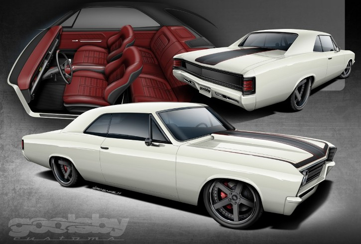 Chevy Chevelle 67 By Looping.... 112