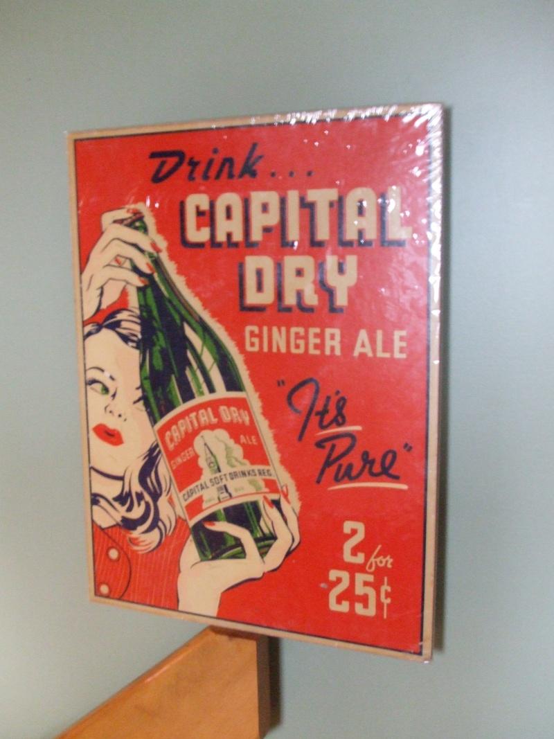 Affiche Capital Dry et Fortier Dscf2831
