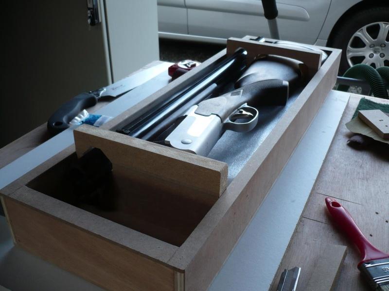 [réalisation] une valise pour fusil de chasse P1040912