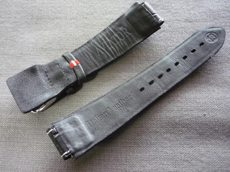 [Vendu] bracelet cuir Aviator neuf P1070411