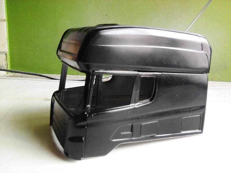 Langzeit Projekt Scania Longliner 1:24  Foto0543