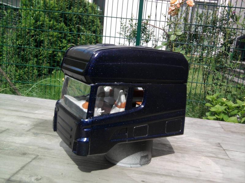 Langzeit Projekt Scania Longliner 1:24  Foto0552