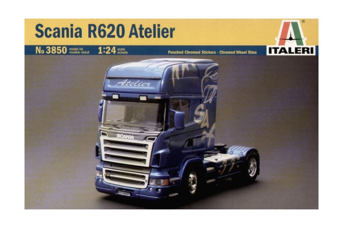 Langzeit Projekt Scania Longliner 1:24  Scania10