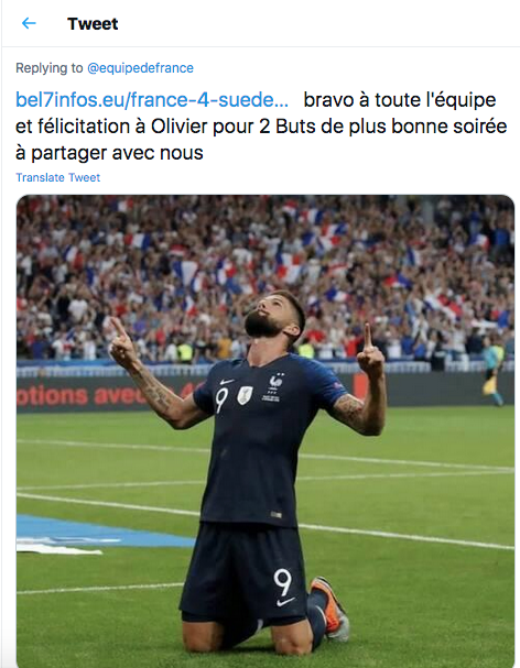 "EQUIPE DE FRANCE DE FOOTBALL ""FIERSDETREBLEUS"" Cap11187"