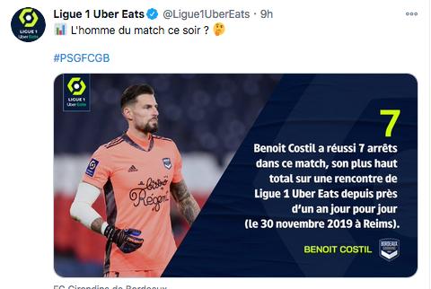 Championnat de France de football LIGUE 1 2020 -2021 Cap11262