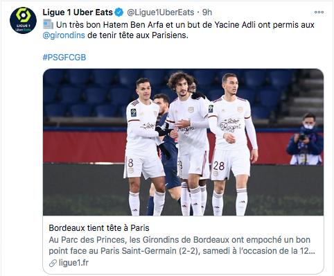 Championnat de France de football LIGUE 1 2020 -2021 Cap11264