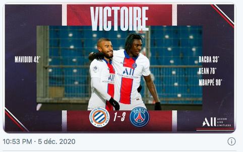 Championnat de France de football LIGUE 1 2020 -2021 Cap11362