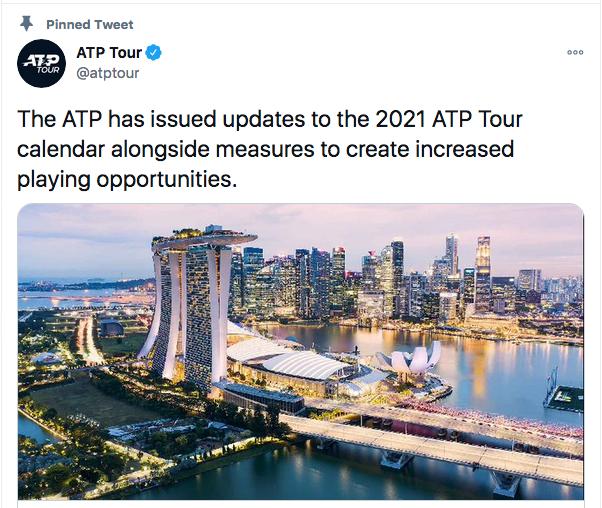 ATP SINGAPOUR 2021 Cap11827