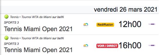 TENNIS PROGRAMME TÉLÉVISION 2021 Cap12857