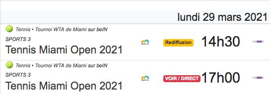 TENNIS PROGRAMME TÉLÉVISION 2021 Cap12859