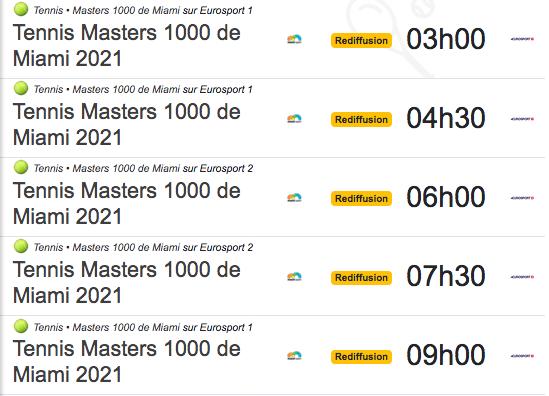 TENNIS PROGRAMME TÉLÉVISION 2021 Cap12870