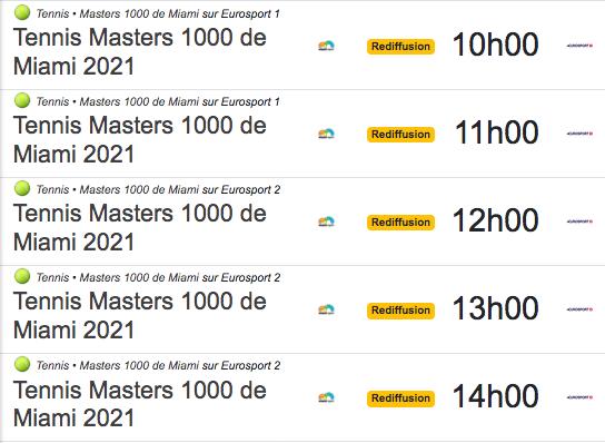 TENNIS PROGRAMME TÉLÉVISION 2021 Cap12871