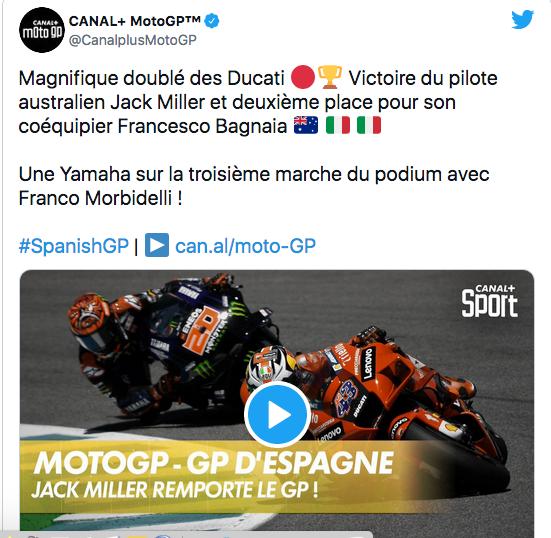 MOTO GP GRAND PRIX D'ESPAGNE 2021 - Page 2 Cap13852
