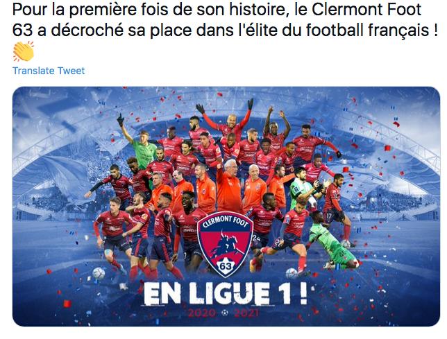 Championnat de France de football LIGUE 1 2021-2022  Cap14025