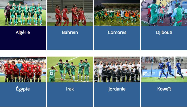 COUPE ARABE DE LA FIFA 2021 Cap14061