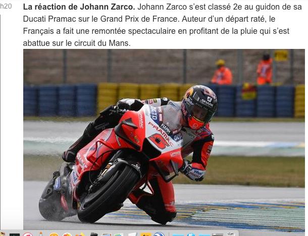 MOTO GRAND PRIX DE FRANCE Cap14076