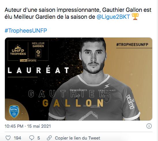 FOOTBALL LES TROPHÉES Cap14099