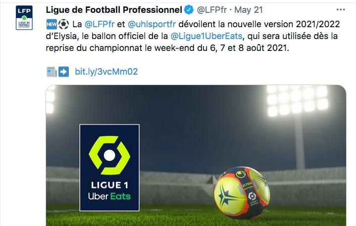 Championnat de France de football LIGUE 1 2021-2022  Cap14144
