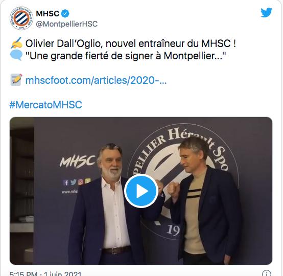FOOTBALL MONTPELLIER 2021-2022 Cap14403