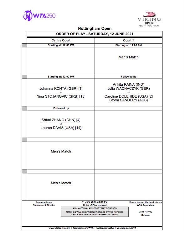 WTA NOTTINGHAM 2021 - Page 2 Cap14639