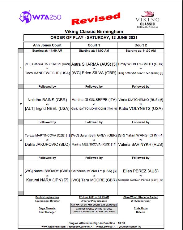 WTA BIRMINGHAM 2021 Cap14645