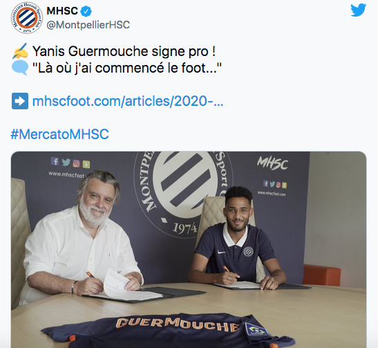 FOOTBALL MONTPELLIER 2021-2022 Cap14895