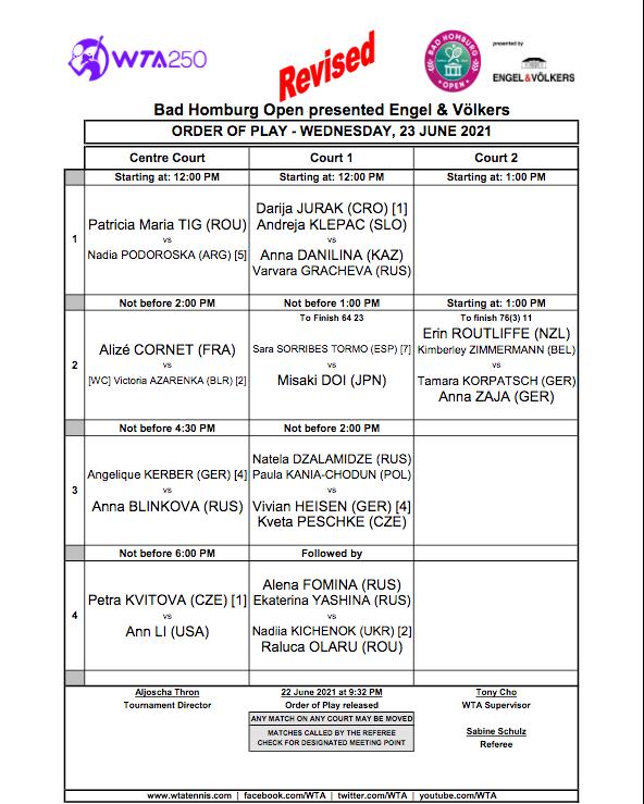 WTA HAMBOURG 2021 Cap14898