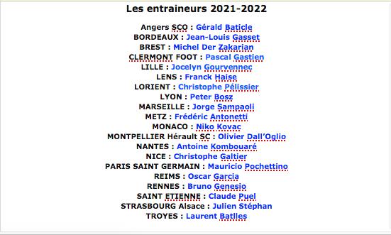 Championnat de France de football LIGUE 1 2021-2022  - Page 2 Cap15720