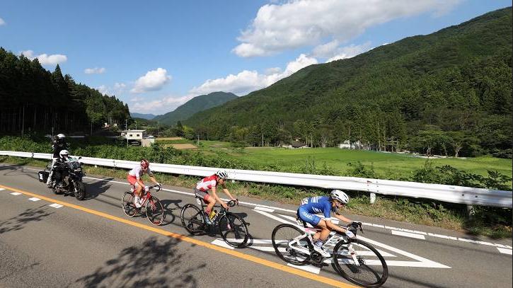 LES JO 2020 DE TOKYO CYCLISME SUR ROUTE FEMMES Cap16133